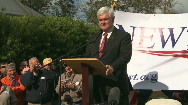 Gingrich ahead in polls and debt