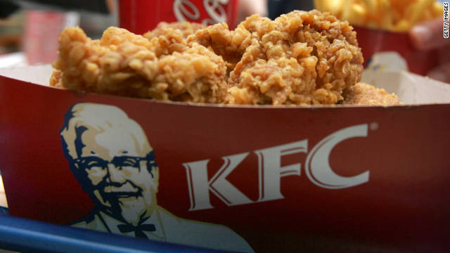 The Kentucky Fried Chicken Foundation awards more than 75 scholarships a year, including one based on Twitter messages.