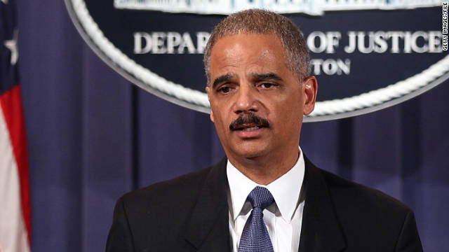 WASHINGTON, DC - OCTOBER 11: U.S. Attorney General Eric Holder (R) and FBI Director Robert Mueller (L) announce a plot had been foiled involving men allegedly linked to the Iranian government to kill the Saudi ambassador to the U.S. and bomb the embassies of Saudi Arabia and Israel in Washington at a news conference October 11, 2011 in Washington, DC. Holder said the men charged with planning the plot were connected to the secretive Quds Force, a division of Iran's Islamic Revolutionary Guards Corps. (Photo by Win McNamee/Getty Images)