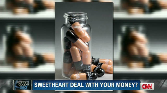 Sweetheart deal with your money?