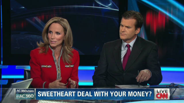 Sweetheart deal with your money? Part 2