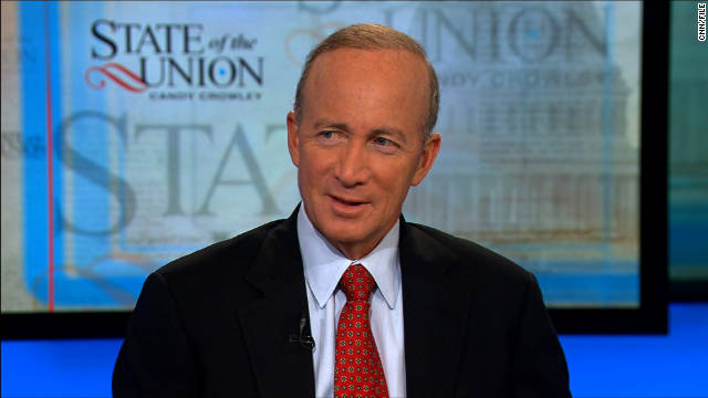 "Indiana Gov. Mitch Daniels: ""As far as I'm concerned, we just drew the community chest card."""