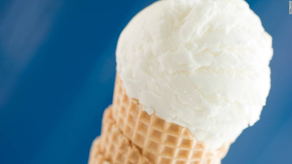 Now, add a scoop of vanilla ice cream. About 30 minutes of walking will knock out the 145 calories that come with it. (Cone not included.)