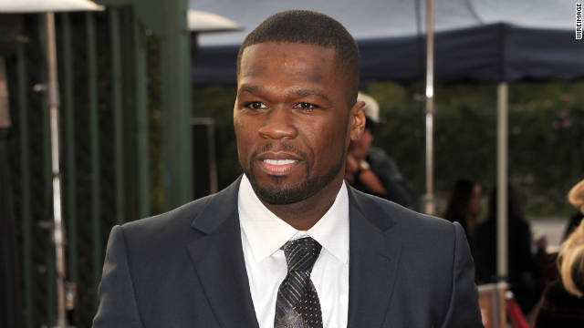 Rapper Curtis '50 Cent' Jackson has been accused by an ex-girlfriend of kicking her and ransacking a bedroom.