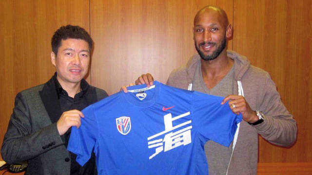 Anelka heads to China on bumper deal