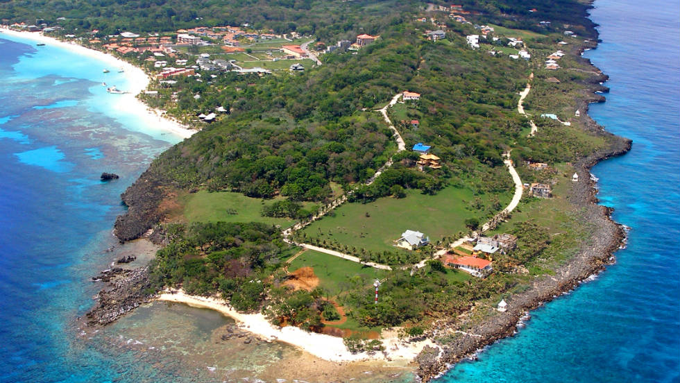 Located on the tropical island of Roatan, 35 miles off the coast of Honduras, the Pristine Bay Resort is situated on a 400-plus acre site adjacent to the Caribbean Sea. The 120-room, five-star Resort and Spa at Pristine Bay is scheduled to open January 2012.