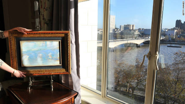 Claude Monet drew an earlier incarnation of London's Waterloo Bridge during his stay at The Savoy hotel in January 1901
