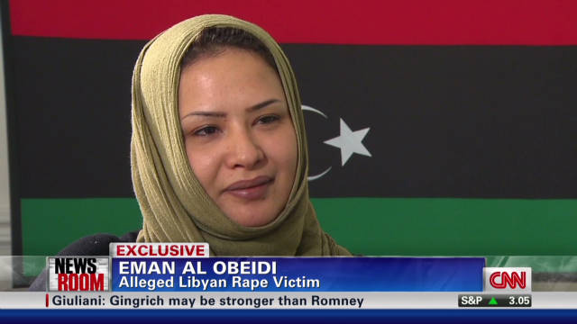 Alleged rape victim gets asylum in U.S.