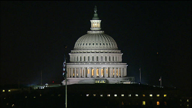 Members of the U.S. Senate went into the early morning to pass the bill.