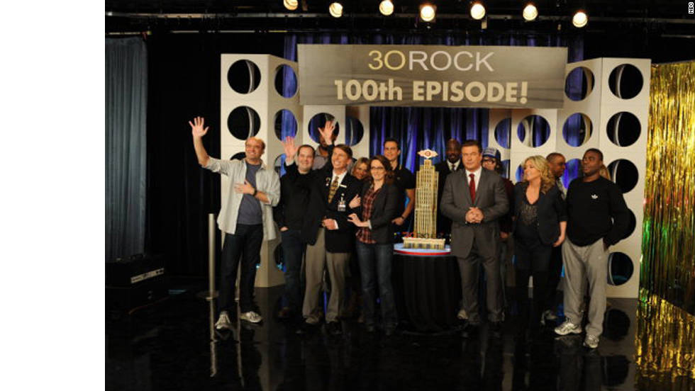 """30 Rock""; ""The Big Bang Theory""; ""Glee""; ""Modern Family""; ""The Office"""