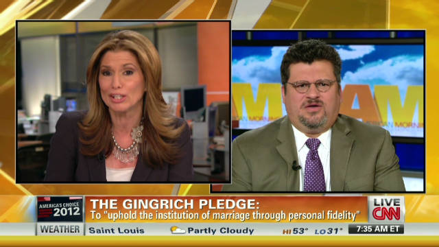 Gingrich's fidelity pledge enough?