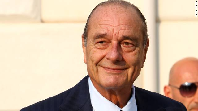 Former French President Jacques Chirac, pictured in June 2009.