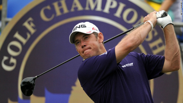World number three Lee Westwood will hope to pick up a first career major in 2012.