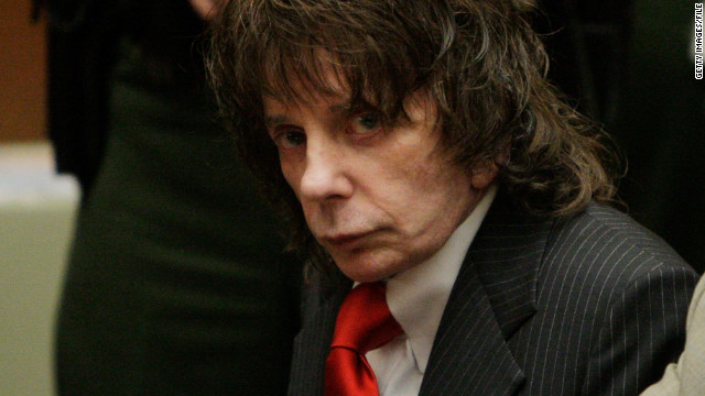 LOS ANGELES, CA - Phil Spector listens to the judge during sentencing in Los Angeles Criminal Courts on May 29, 2009 in Los Angeles, for the February 2003 shooting death of actress Lana Clarkson. Spector was sentenced for 19-years to life. (Photo by Jae C. Hong-Pool/Getty Images)