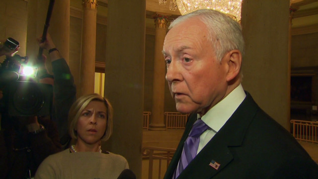 Sen. Hatch: We're not going to give in