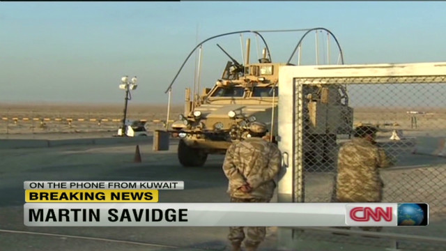 U.S. troops mission in Iraq ends