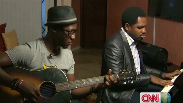 Nigerian musician uses sound to see
