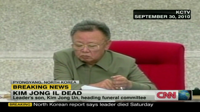 Kim Jong Il's death shocks South Korea