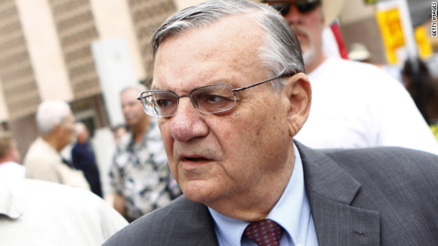 2012: Stats don't support profiling, Arpaio says