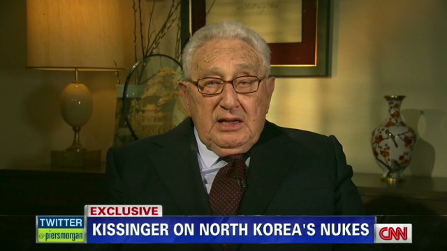 Kissinger reflects on North Korea future