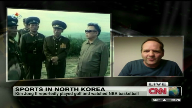 Kim Jong Il's love for American sports