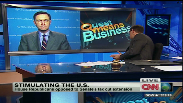 Romney's economist on payroll tax battle