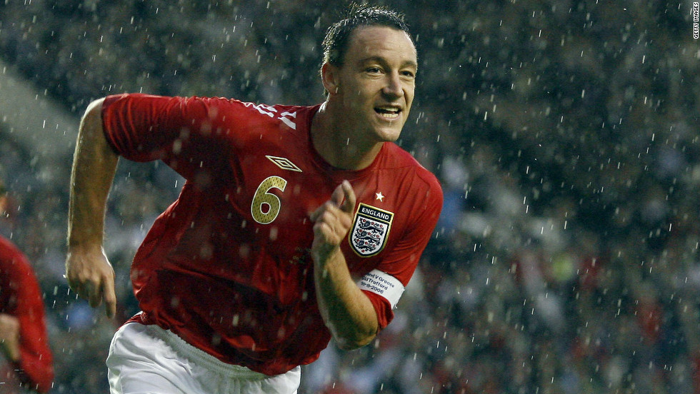 Terry's international profile continued to grow and he was named England captain by new manager Steve McClaren in 2006. He scored the opening goal in his first match as skipper, a 4-0 victory over Greece.