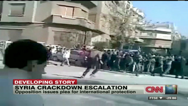 Syrian opposition plea for intervention