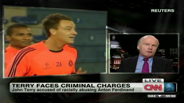 Sports: Terry guilty of racist slur?