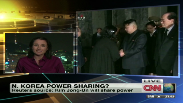 North Korea power sharing?