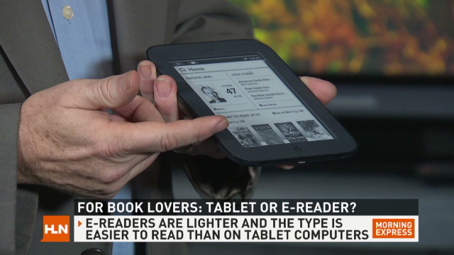 E-Reader or iPad