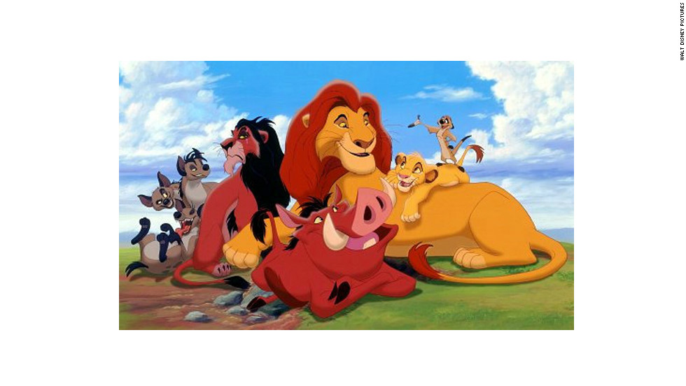"""The Lion King"" was re-released in 3-D after originally bowing in theaters in 1994."