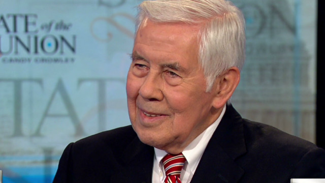 Lugar on the future of North Korea