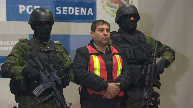 Aide to top drug lord arrested in Mexico