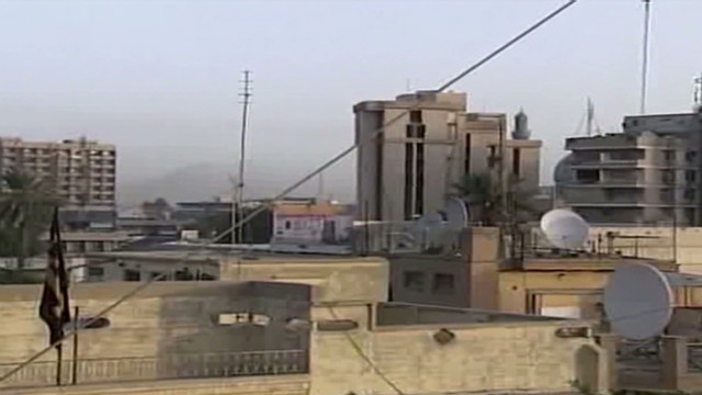 Suicide bomber strikes Iraqi compound