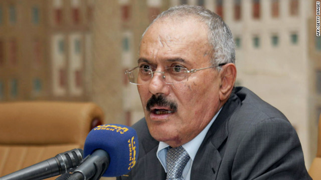 In return for immunity, Yemeni President  Ali Abdullah Saleh will step down next month after more than 33 years in power.