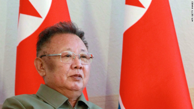 North Korea's enigmatic leader Kim Jong Il died on Saturday, December 17 2011 (file photo).