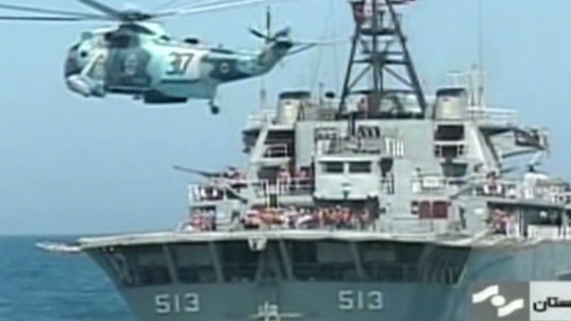 Navy won't tolerate Iran 'disruption'