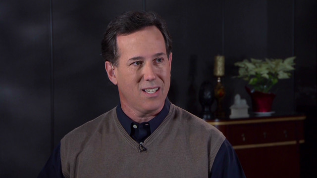 Stunning turnaround for Santorum