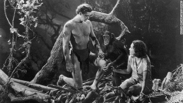 Several chimpanzees appeared in various Tarzan movies, many of which were popular in the 1930s and 1940s.