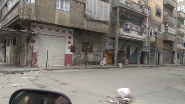 Exclusive: Government snipers prowl Homs