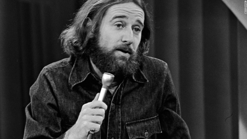 "American comedian George Carlin's sketch that included what he called the ""heavy seven"" words landed him in jail, with a fine by the FCC. The case would ultimately go to the U.S. Supreme Court. The ""dirty seven,"" as they became, were deemed prohibitable during hours when children were likely to be in the audience."