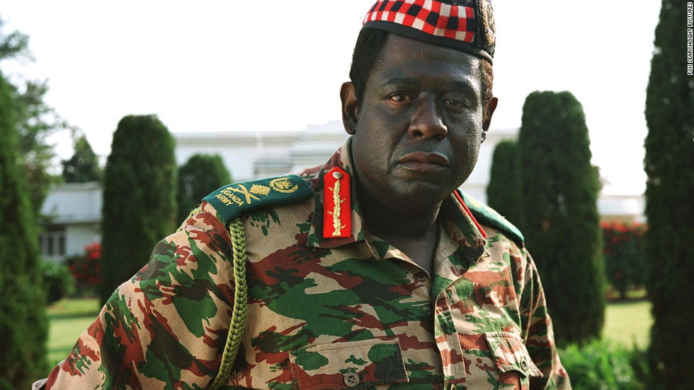 "Forest Whitaker's performance as Ugandan dictator Idi Amin in ""The Last King of Scotland"" brought him a best actor Academy Award, Golden Globe and BAFTA Award."