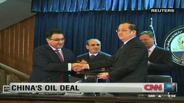 China invests in Afghan oil