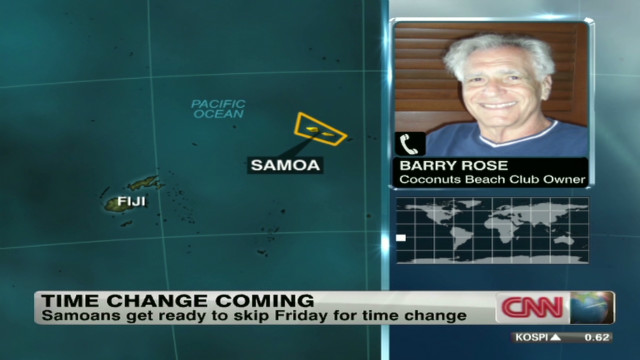 Samoan: No time change controversy