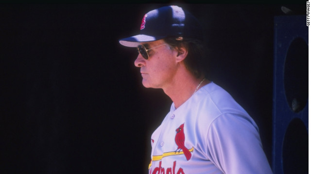 Former Cardinals manager Tony La Russa, who stepped down after his team won the World Series
