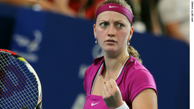 Petra Kvitova was in sparkling form on her return to action in the Hopman Cup.