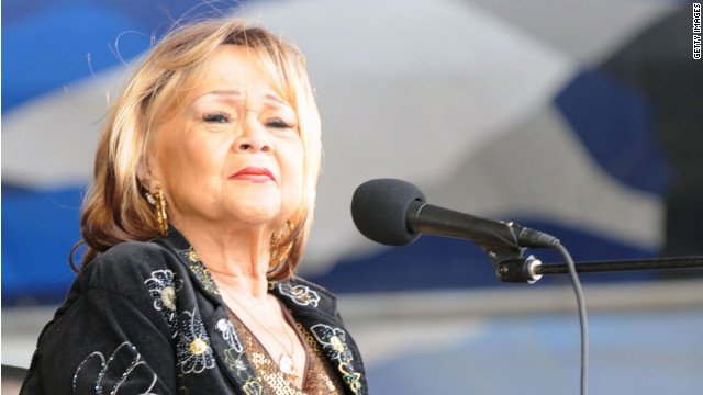 Singer Etta James is battling the final stages of terminal leukemia, as well as dementia.