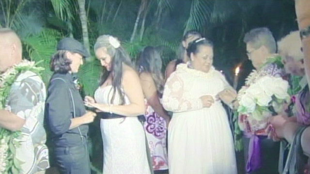 Civil unions now permitted in Hawaii