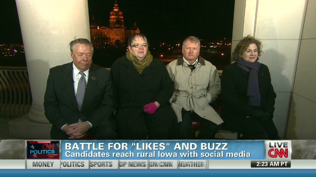 The role of social media in Iowa